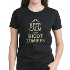 Keep Calm and Shoot Zombies Tee