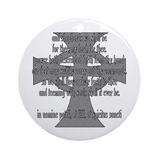 Brothers Creed Ornament (Round)