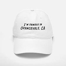 Famous in Orangevale Baseball Baseball Cap