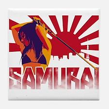 Samurai Nine Tile Coaster