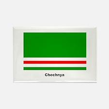 Chechan Chechnya Flag Rectangle Magnet