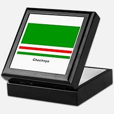 Chechan Chechnya Flag Keepsake Box