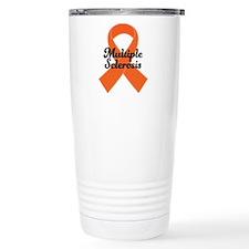 MS Awareness Ribbon Thermos Mug