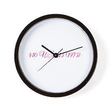 Roe v. Wade: Fancy Case Citation Wall Clock