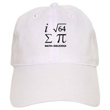 Math = Delicious Baseball Cap