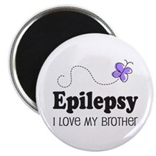 Epilepsy I Love My Brother Magnet