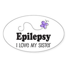Epilepsy I Love My Sister Decal