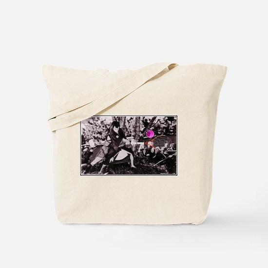 Samurai Sledgehammer Tote Bag