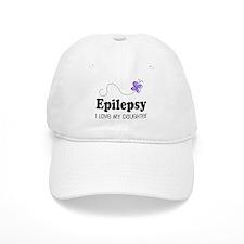 Epilepsy I Love My Daughter Baseball Cap