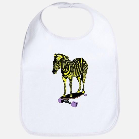 zebra skate Bib