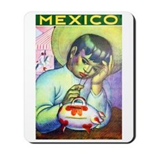 Mexico Travel Poster 13 Mousepad