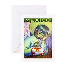 Mexico Travel Poster 13 Greeting Card