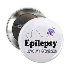 "Epilepsy I Love My Grandson 2.25"" Button"