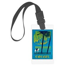 Russia Travel Poster 1 Luggage Tag