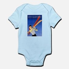 New Hampshire Travel Poster 1 Infant Bodysuit