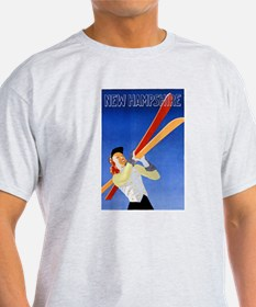 New Hampshire Travel Poster 1 T-Shirt