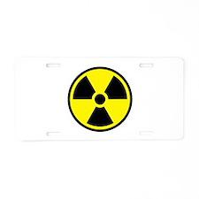 Radioactive Aluminum License Plate