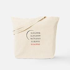 Breaking Dawn Part 2 Release Date Tote Bag