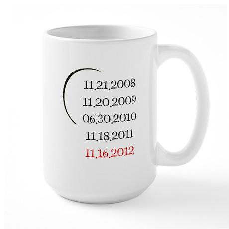 Breaking Dawn Part 2 Release Date Large Mug