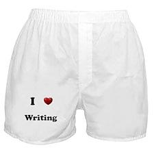 Writing Boxer Shorts