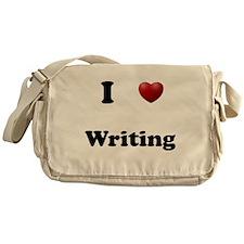 Writing Messenger Bag