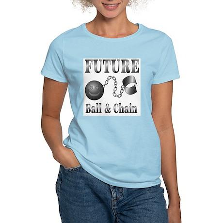 FUTURE Ball and Chain Women's Pink T-Shirt