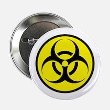 """Biohazard 2.25"""" Button"""