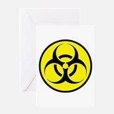 Biohazard Greeting Card