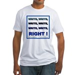 Write Right Fitted T-Shirt
