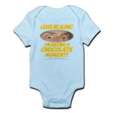 LeaveMeAloneChoc0002 Infant Bodysuit