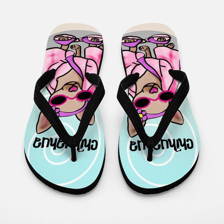 Chihuahua FF Flip Flops