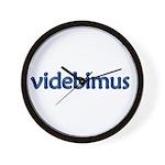 Videbimus! [Latin] Wall Clock