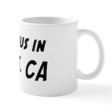 Famous in Landers Small Mug