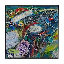 Tile Coaster - A Jewish Story