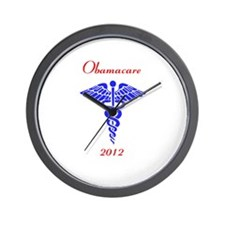Obamacare 2012 Wall Clock