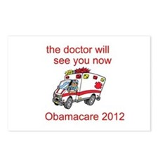 Obamacare: The Doctor Will See You Now Postcards (