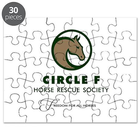 Circle F logo Puzzle