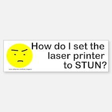 laser printer Bumper Bumper Bumper Sticker