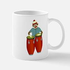 Sock Monkey Conga Player Coffee Mug