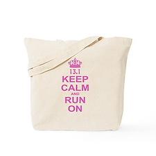 run pink 13.1.png Tote Bag