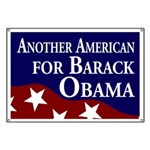 Another American for Obama Banner