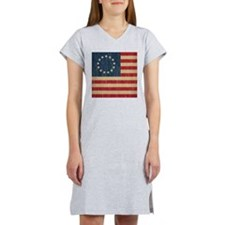 Vintage Betsy Ross Flag Women's Nightshirt
