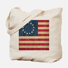 Vintage Betsy Ross Flag Tote Bag