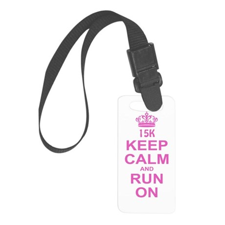 run pink 13.1.png Small Luggage Tag