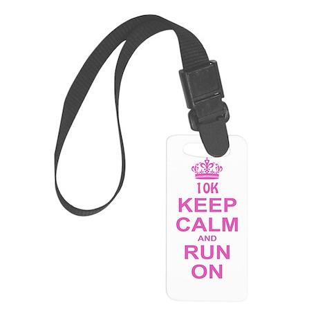 run pink 13.1.png Small Luggage Tag