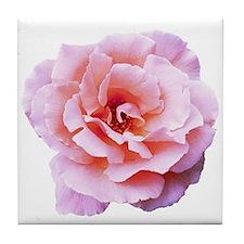 Mary Magdalene Rose Tile Coaster