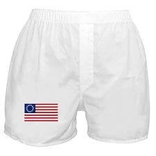 Betsy Ross United States Flag Boxer Shorts