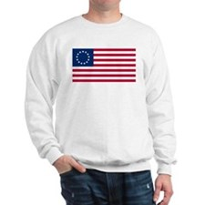 Betsy Ross United States Flag Sweatshirt