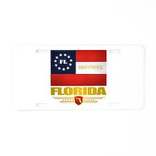Florida Deo Vindice Aluminum License Plate