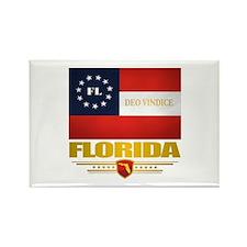 Florida Deo Vindice Rectangle Magnet (10 pack)
